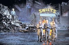 A scene from Charlie And The Chocolate Factory which is being staged at the Theatre Royal, Drury Lane in London's West End