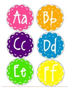 Resourceful Ragland- Super Cute Word Wall Letters. Print, laminate, cut, display!!!!