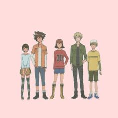 Digimon adventure tri - my favorite characters❤️ @bluecttncandy