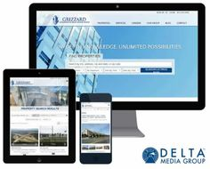 Grizzard Commercial Real Estate Launches Redesign with Delta Media Group Property Search, Find Property, Mobile Responsive, Commercial Real Estate, Real Estate Companies, Central Florida, Being A Landlord, Online Marketing, Product Launch