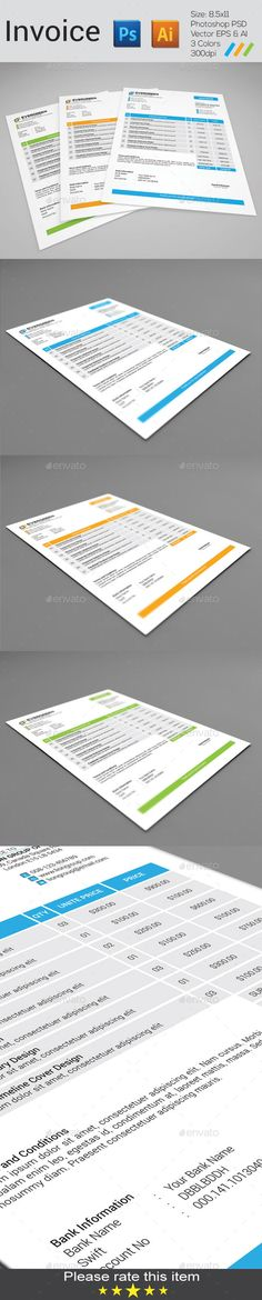 21-Invoice-Template-for-Mac Magazine  Flyer Pinterest Letterhead - Download Numbers Spreadsheet For Mac