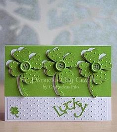 Lucky St. Patrick's Day Greeting Card 1
