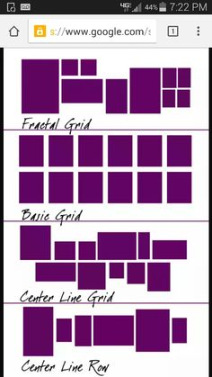 Center line grid