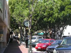 State Street Redlands,CA Wonderful shops...beautiful tree lined street. hubbys store is on this street