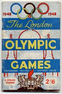 Poster of 1948 olympics in london