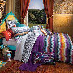 Ascent Bed Linen by Kas from Harvey Norman New Zealand Boho Style Decor, Bohemian Theme, Bohemian Style, Bedroom Themes, Bedroom Decor, Master Bedroom, Boho Dekor, Bohemian Bedding, Color