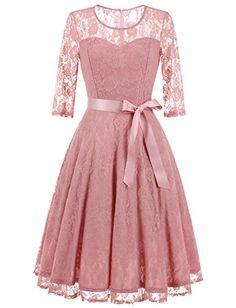 Sparkz Damen Kleid Tia Long Dress: : Bekleidung
