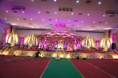 Marriage Decoration, Hyderabad, Wedding Decorations, Fair Grounds, Beautiful, Events, Weddings, Google Search, Wedding