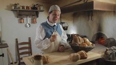 Leaven: 18th Century Breads, Part 4.  Cooking with Jas. Townsend and Son...