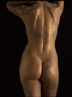 'Laura' by Jorge Egea Wood (back view)