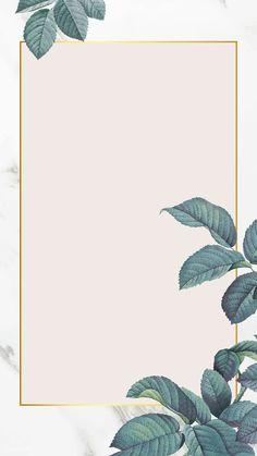 Marble Wallpaper Phone, Framed Wallpaper, Flower Background Wallpaper, Flower Backgrounds, Aesthetic Iphone Wallpaper, Wallpaper Backgrounds, Wallpapers, Background Banner, Makeup Backgrounds