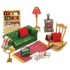 Sylvanian Families Cosy Living Room Furniture Co Uk Toys