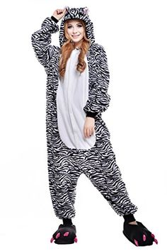 Introducing Newcosplay Adult Unisex Cow Zebra Kangaroo Onesie Pajamas Costume S Zebra. Get Your Ladies Products Here and follow us for more updates!