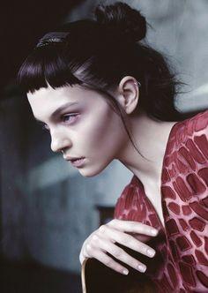Kate Bogucharskaia by Benjamin Vnuk for Lurve Magazine Spring 2014