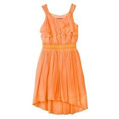 IZ Amy Byer Ruffle Gauze Dress - Girls 4-6x