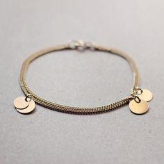 bellissima++gold+coin+bracelet+by+elephantine+by+elephantine,+$37.00