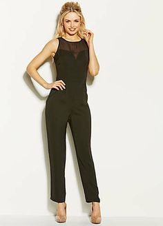 AX Paris Chiffon Yoke Detailed Jumpsuit £45 from Freemans.com.  jumpsuit   361eac2928