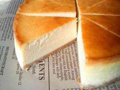 粉類ナシ!材料使いきり!混ぜるだけ!とーっても美味しい自慢のNYチーズケーキです♪