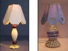 how to: miniature lampshades
