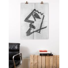 "Joe Bradley, ""Untitled."" Print via exhibitiona.com"