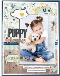 Puppy Love by Marielle LeBlanc – Scrapbook & Cards Today Spring 2018