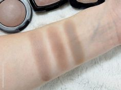 The swatches from le