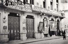 Teatro de los Obreros en la calle Metalurgia hoy Caballeros #Valencia