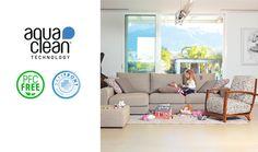 Romantic - AquaClean kolekcia   sedackybeta.sk Clean Technology, Romantic, Couch, Marketing, Furniture, Home Decor, Settee, Decoration Home, Sofa