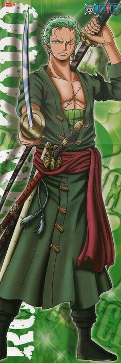 Roronoa Zoro, text; One Piece