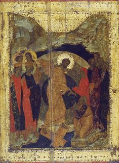 The icons of Andrey Rublev: Byzantine Icons, Byzantine Art, Russian Icons, Russian Art, Andrei Rublev, Christ Is Risen, Biblical Art, Orthodox Icons, King Of Kings