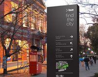 Buenos Aires City Wayfinding sistem
