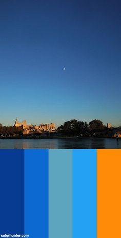 Moon Over Avignon Color Scheme