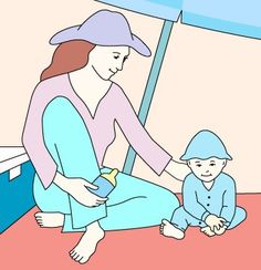 Is sunscreen OK safe for a baby? Get tips on sun safety for infants: