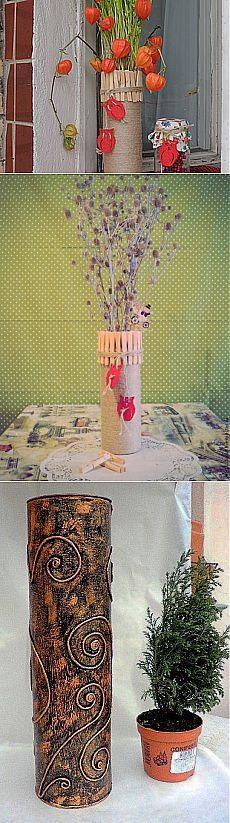 Ваза для букетов из сухих или декоративных цветов - Ярмарка Мастеров - ручная работа, handmade