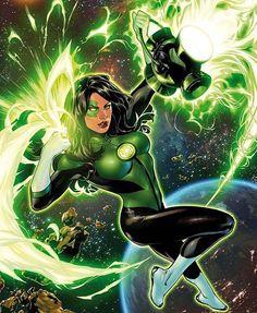 Jessica Cruz  #JessicaCruz #Comics #GreenLantern #Dc #Dccomics #Dcuniverse #JusticeLeague #Rebirth by devilzsmile.com #devilzsmile