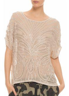 love this blouse from @Kristy Lumsden Johnston Hippie #sparkles #hautehippie #silver