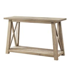 Better Homes & Gardens Granary Modern Farmhouse Console Table, Multiple Finishes - Walmart.com - Walmart.com Walmart Decor, Walmart Home, Outdoor Console Table, Entry Tables, Wood Grain Texture, Better Homes And Gardens, Find Furniture, Modern Farmhouse, Home And Garden