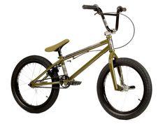 "Stereo Bikes ""Half Stack 18"" 2017 BMX Bike - 18 Inch | Army Green | kunstform BMX Shop & Mailorder - worldwide shipping"