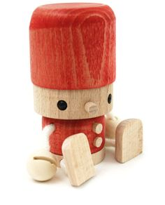 Toby & Miserable and wooden doll by Kazuto Komatsu