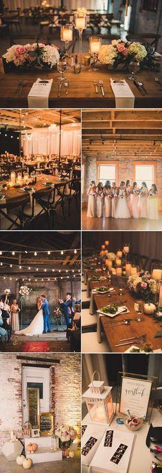 rustic barn industrial wedding theme ideas / http://www.deerpearlflowers.com/industrial-wedding-theme-ideas/