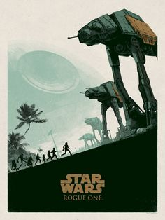 Star Wars: Rogue One - Created by Matt FergusonLimited edition prints available at Bottleneck Gallery.