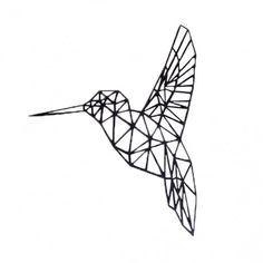 Geometric Deer, Geometric Origami, Tattoos Geometric, Geometric Drawing, Geometric Designs, Geometric Shapes, Origami Tattoo, Vogel Silhouette, Tattoos Mandala