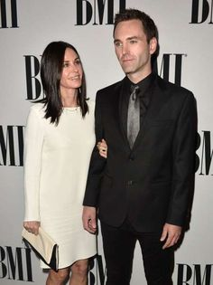 Celeb photos of the year 2016:     Courteney Cox and Johnny McDaid attend the 64th Annual BMI Pop Awards in Los Angeles on May 10, 2016.