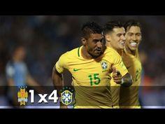Uruguai 1 x 4 Brasil - Melhores Momentos - Eliminatórias da Copa 2018