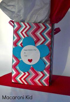 Valentine Treat Bags   Macaroni Kid