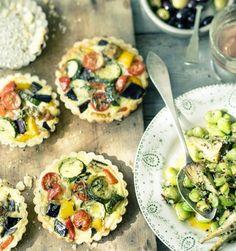 Rezept: Ratatouille-Tartelettes