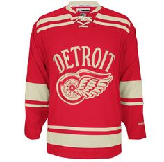 5f2f07788 Detroit Red Wings Premier Adidas NHL Home   Road Jerseys