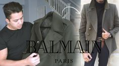 I had this great idea to upgrade my $150 green military coat to make it look very much like the Balmain Coat. I bought the coat at Asos ( Buy here http://rstyle.me/n/cdhtyn3pme ) and bought the Gold Buttons at amazon.com ( Buy here http://rstyle.me/n/cdht7v3pme ). I asked my tailor to put the buttons and thats
