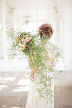Inspiring wedding shoot at the Orangery by Saraw Gawler. #lightness