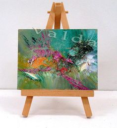 Abstract  Landscape gift item modern art abstract by valdasfineart